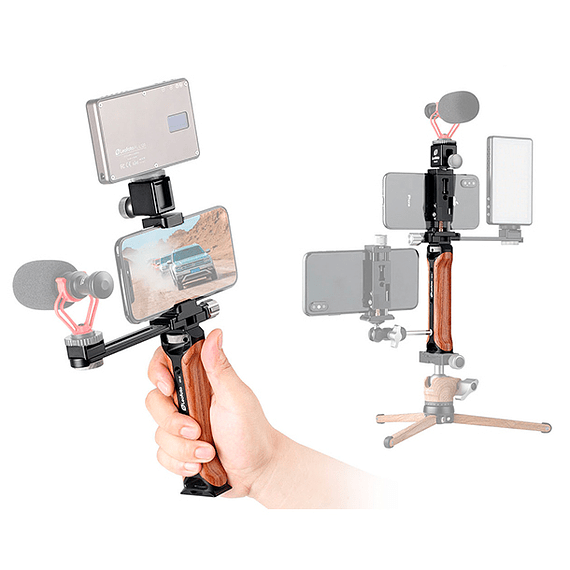 Soporte/Empuñadura Leofoto Kit para Teléfono y Accesorios VC-1- Image 4