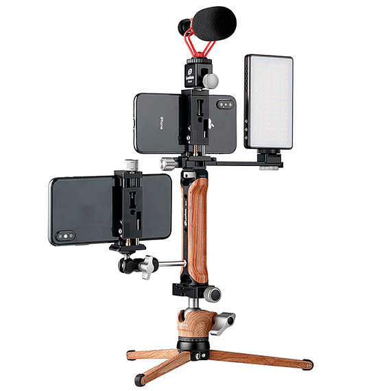 Soporte/Empuñadura Leofoto Kit para Teléfono y Accesorios VC-1- Image 5