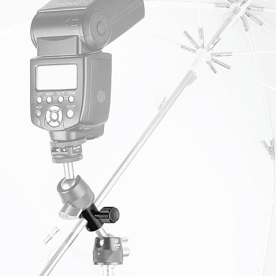 Adaptador Leofoto para Flash y Paraguas CF-10- Image 2