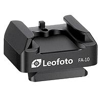 Adaptador Leofoto Zapata Flash Sistema QR FA-10