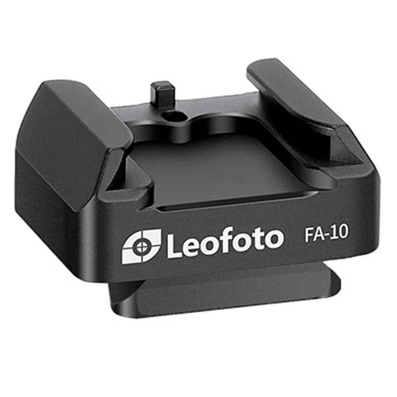 Adaptador Leofoto Zapata Flash Sistema QR FA-10- Image 1