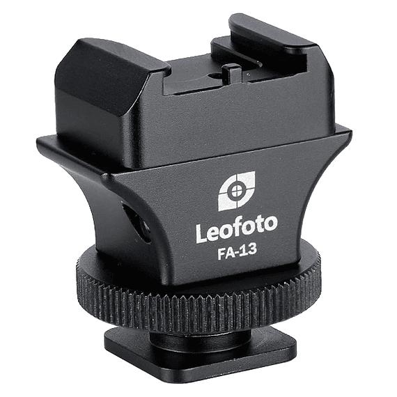 Adaptador Leofoto Zapata Flash Sistema QR FA-13- Image 1