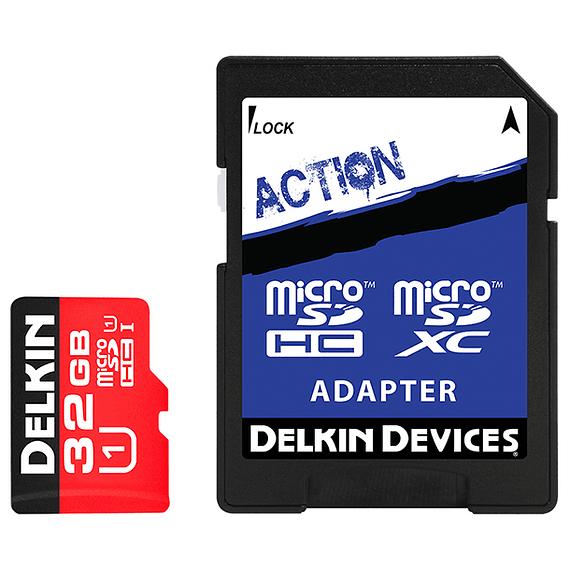 Tarjeta Memoria Delkin Devices 32GB Micro SDHC UHS-I para Cámara Trampa- Image 1