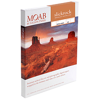 Papel Fine Art Moab Slickrock Metallic Silver 300 A4 (8.25 x 11.75) 25 Hojas