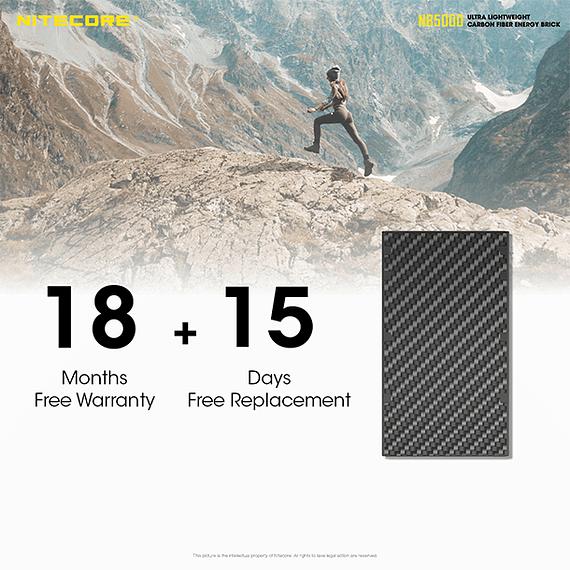 Batería Externa Nitecore Carbono 5000 mAh- Image 7