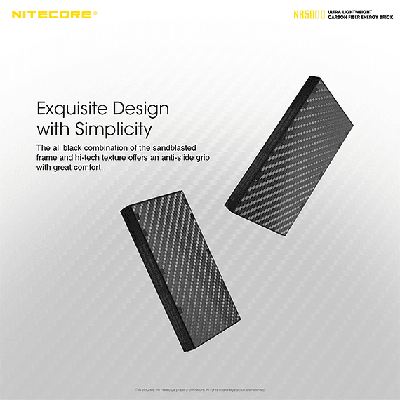 Batería Externa Nitecore Carbono 5000 mAh- Image 9