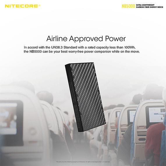 Batería Externa Nitecore Carbono 5000 mAh- Image 10