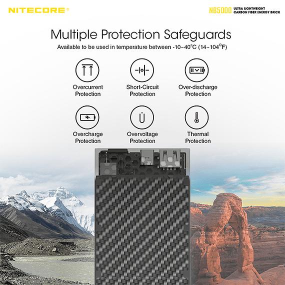 Batería Externa Nitecore Carbono 5000 mAh- Image 11