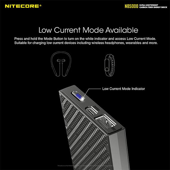 Batería Externa Nitecore Carbono 5000 mAh- Image 13