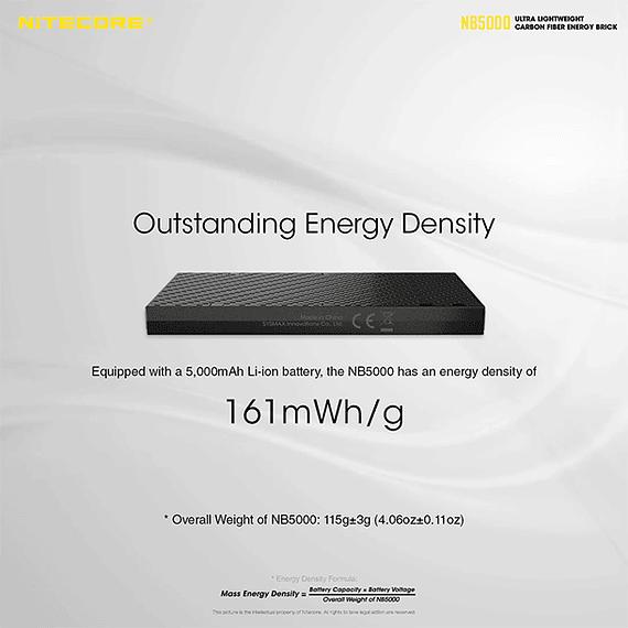 Batería Externa Nitecore Carbono 5000 mAh- Image 18