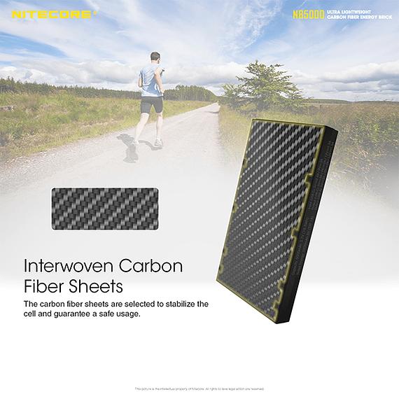 Batería Externa Nitecore Carbono 5000 mAh- Image 22
