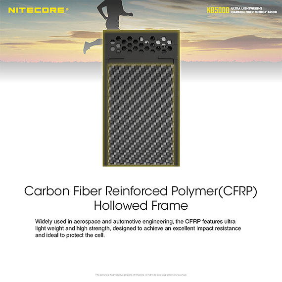 Batería Externa Nitecore Carbono 5000 mAh- Image 23