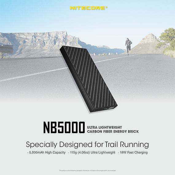 Batería Externa Nitecore Carbono 5000 mAh- Image 24