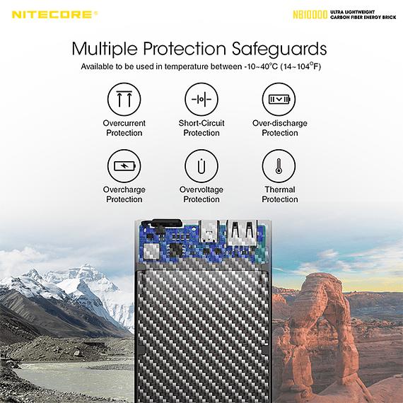 Batería Externa Nitecore Carbono 10000 mAh- Image 10