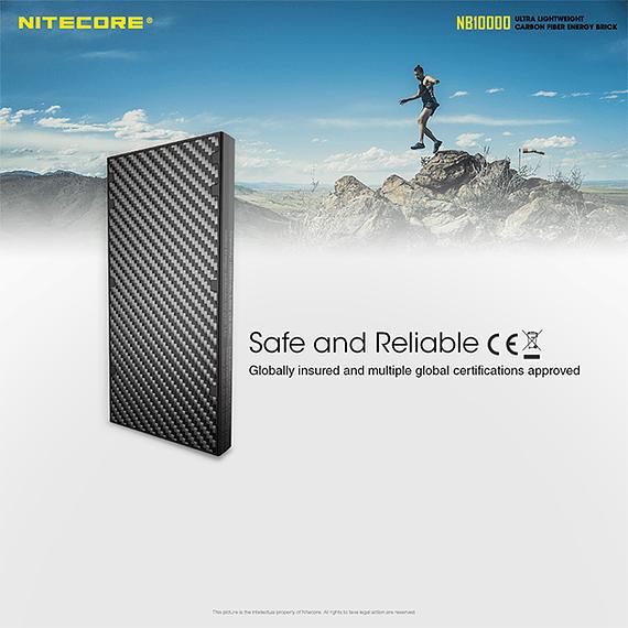 Batería Externa Nitecore Carbono 10000 mAh- Image 11