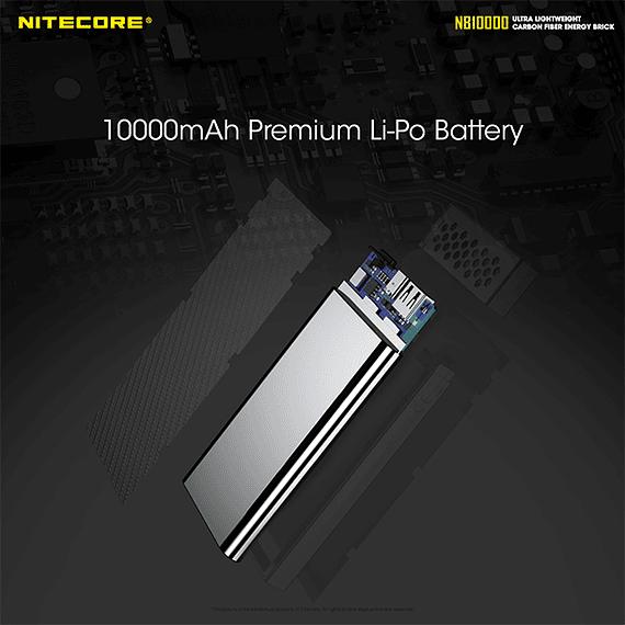 Batería Externa Nitecore Carbono 10000 mAh- Image 12