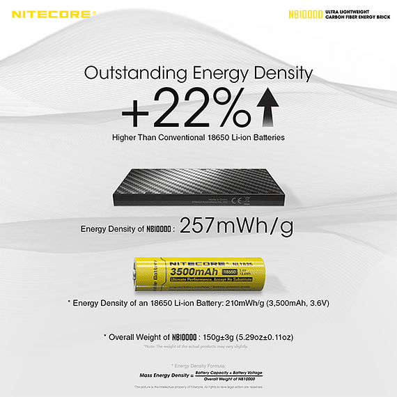 Batería Externa Nitecore Carbono 10000 mAh- Image 18