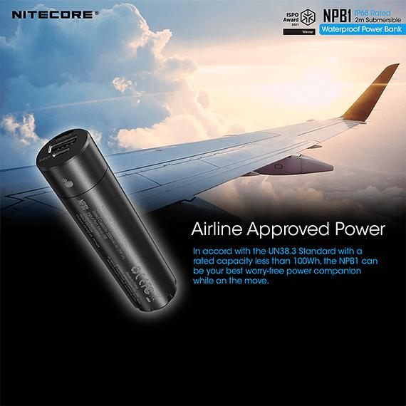 Batería Externa Nitecore 5000 mAh Waterproof- Image 4