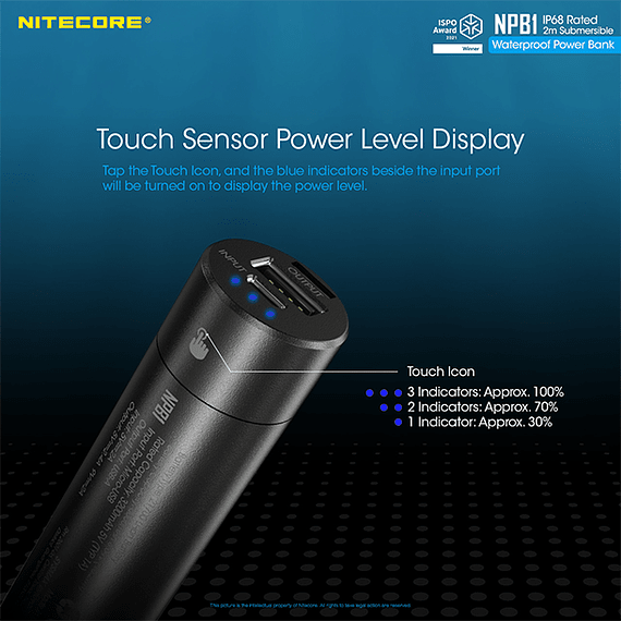 Batería Externa Nitecore 5000 mAh Waterproof- Image 7