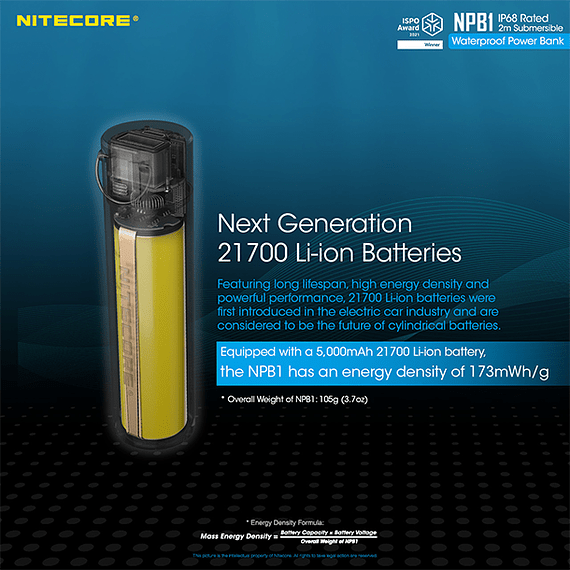Batería Externa Nitecore 5000 mAh Waterproof- Image 11