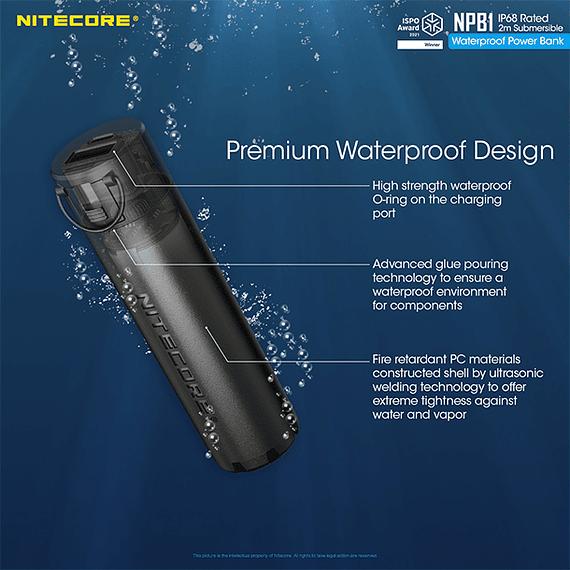 Batería Externa Nitecore 5000 mAh Waterproof- Image 14