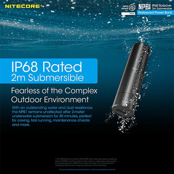 Batería Externa Nitecore 5000 mAh Waterproof- Image 15