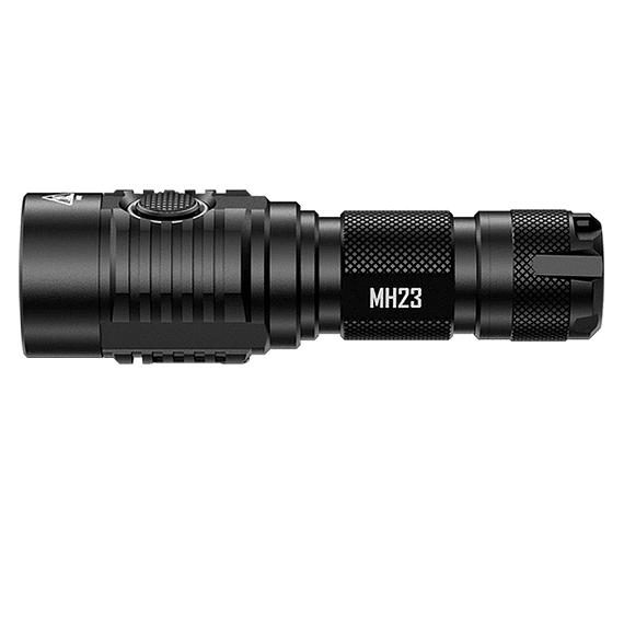 Linterna LED Nitecore 1800 lúmenes Recargable USB MH23- Image 3