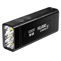 Linterna LED Nitecore 10000 lúmenes Recargable USB TM10K
