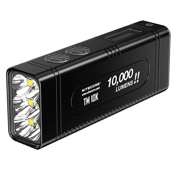 Linterna LED Nitecore 10000 lúmenes Recargable USB TM10K- Image 1