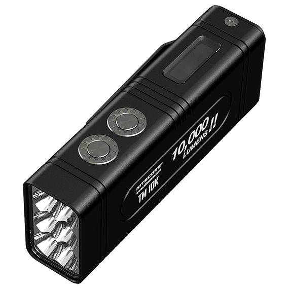 Linterna LED Nitecore 10000 lúmenes Recargable USB TM10K- Image 2