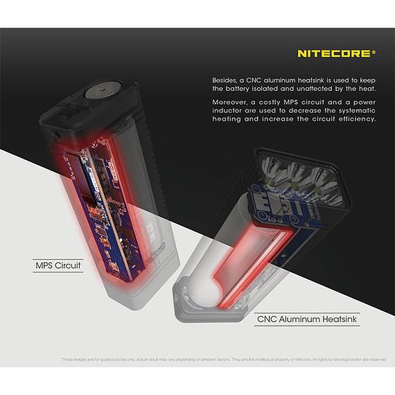 Linterna LED Nitecore 10000 lúmenes Recargable USB TM10K- Image 15