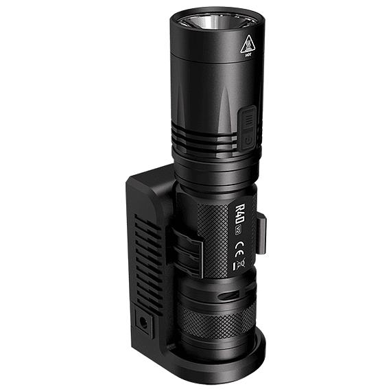 Linterna LED Nitecore 1000 lúmenes Recargable USB R40 V2- Image 2
