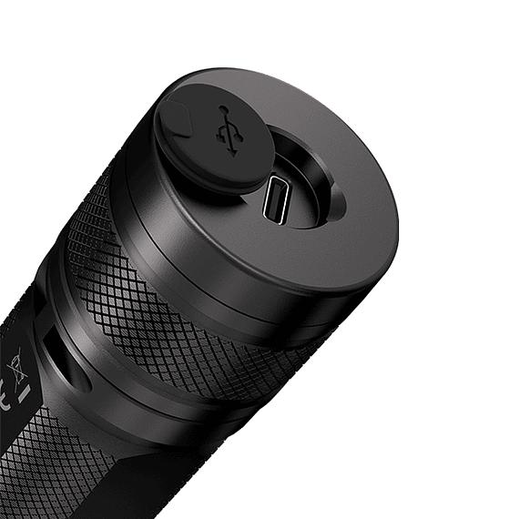 Linterna LED Nitecore 1000 lúmenes Recargable USB R40 V2- Image 4