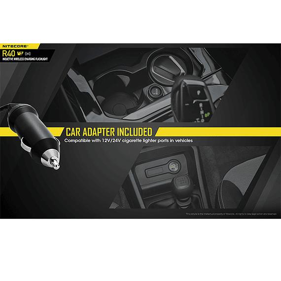 Linterna LED Nitecore 1000 lúmenes Recargable USB R40 V2- Image 19