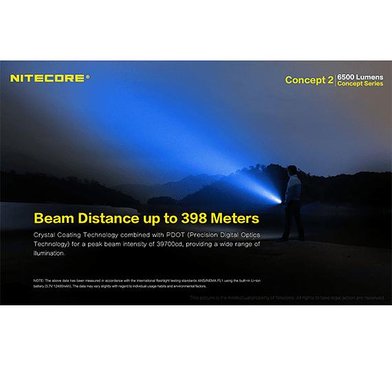 Linterna LED Nitecore 6500 lúmenes Recargable Concept 2- Image 13