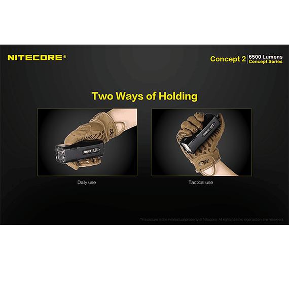 Linterna LED Nitecore 6500 lúmenes Recargable Concept 2- Image 16