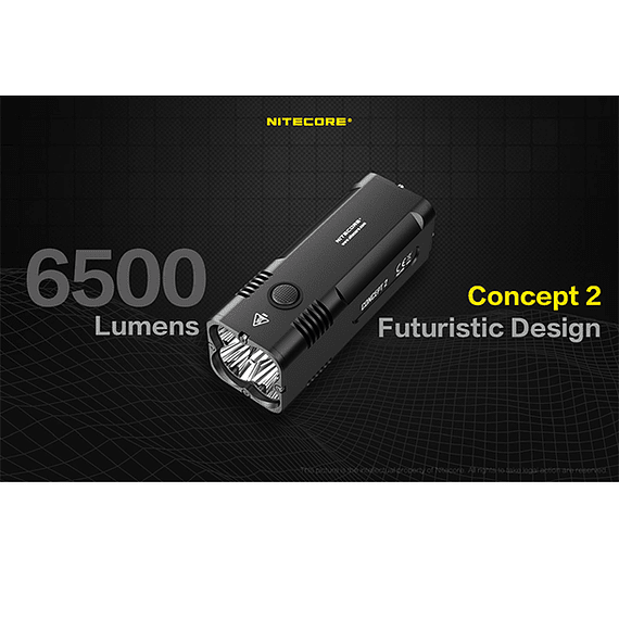 Linterna LED Nitecore 6500 lúmenes Recargable Concept 2- Image 25