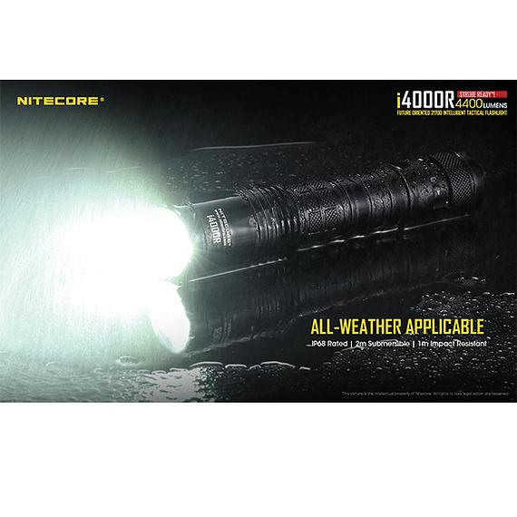 Linterna LED Nitecore 4400 lúmenes Recargable USB i4000R- Image 13