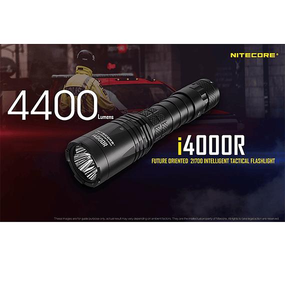 Linterna LED Nitecore 4400 lúmenes Recargable USB i4000R- Image 27