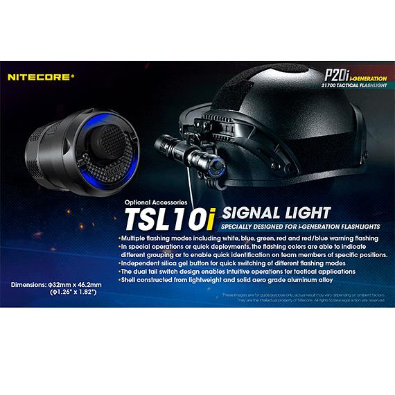 Linterna LED Nitecore 1800 lúmenes Recargable USB P20i- Image 10