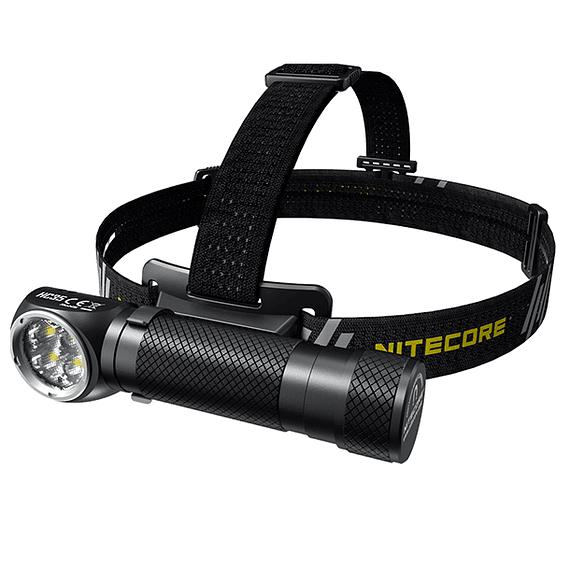 Linterna Frontal LED Nitecore 2700 lúmenes Recargable USB HC35- Image 1