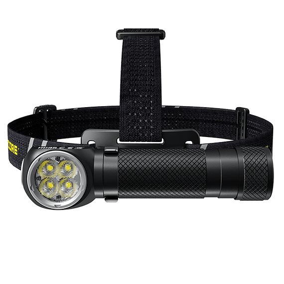 Linterna Frontal LED Nitecore 2700 lúmenes Recargable USB HC35- Image 2
