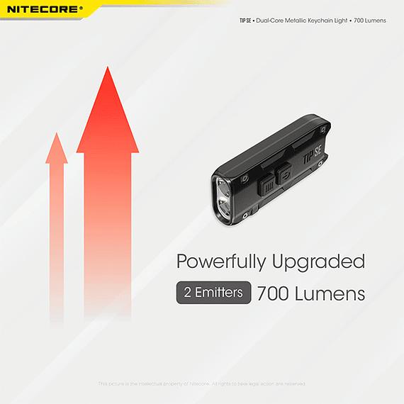 Linterna Compacta LED Nitecore 700 lúmenes Recargable USB TIP SE Gris- Image 24