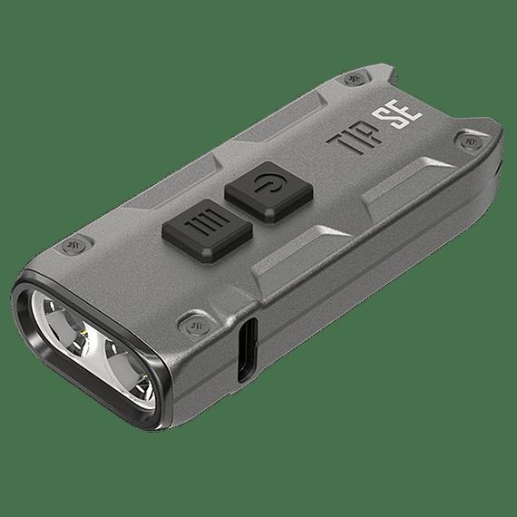 Linterna Compacta LED Nitecore 700 lúmenes Recargable USB TIP SE Gris- Image 1