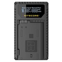 Cargador Nitecore Dual-Slot USB para Canon