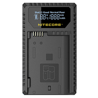 Cargador Nitecore UCN1 Dual-Slot USB para Canon LP-E6N y LP-E8
