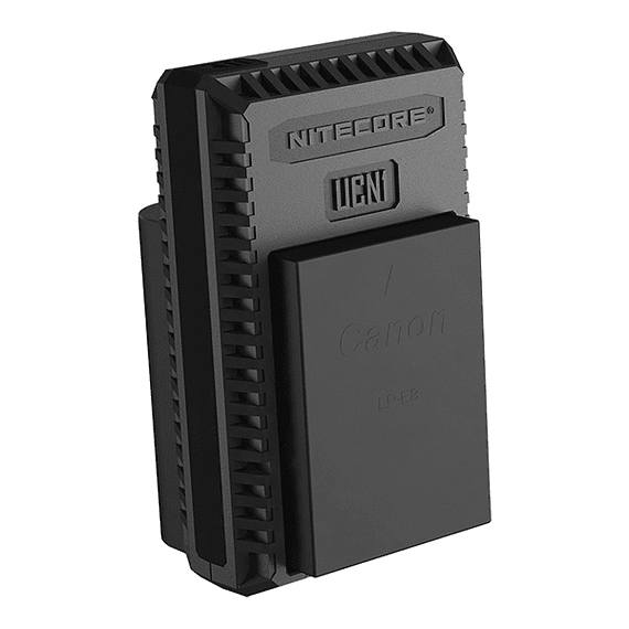 Cargador Nitecore UCN1 Dual-Slot USB para Canon LP-E6N y LP-E8- Image 3