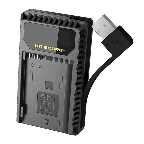 Cargador Nitecore UCN1 Dual-Slot USB para Canon LP-E6N y LP-E8- Image 6