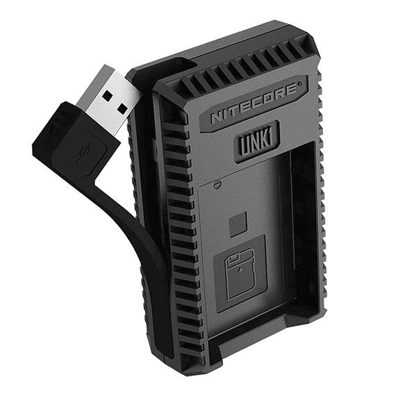 Cargador Nitecore UCN1 Dual-Slot USB para Canon LP-E6N y LP-E8- Image 7