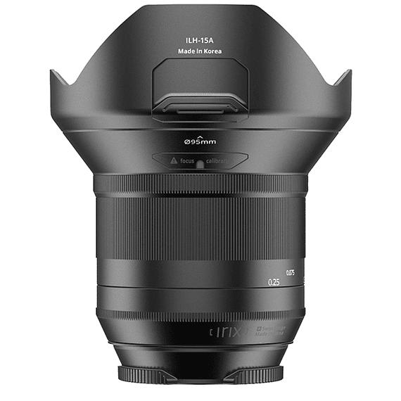 Lente Irix Lens 15mm F/2.4 Blackstone para Canon- Image 5
